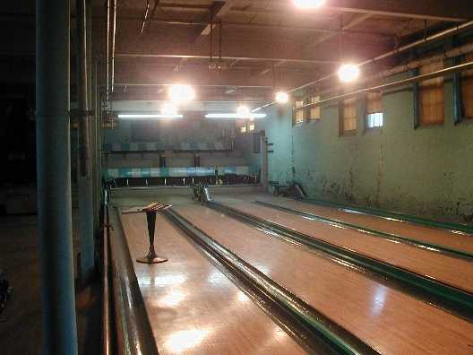 pictures bowling alley pool tables